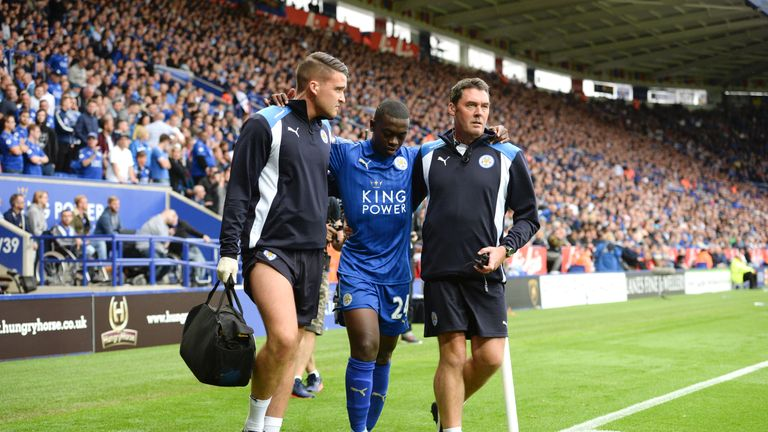 Nampalys Mendy has not played for the Foxes since injuring his ankle against Arsenal in August.