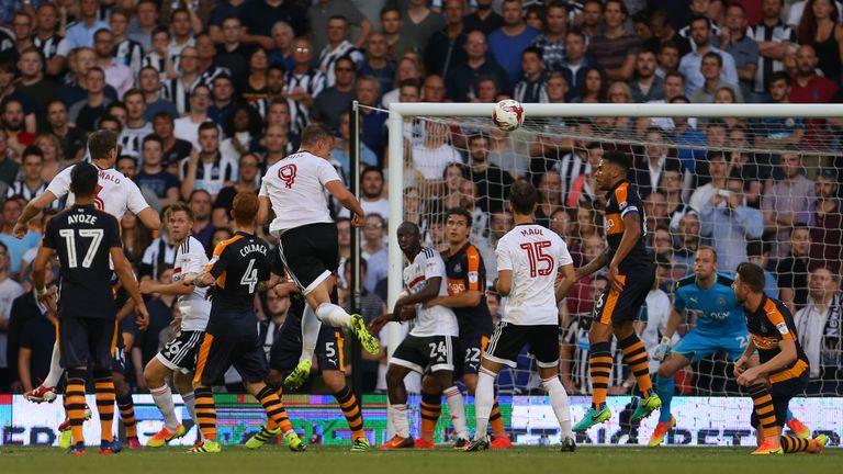 Matt Smith heads home Fulham's winner
