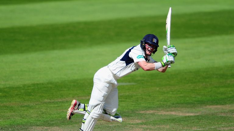 Nick Gubbins has enjoyed a fine season for table-topping Middlesex