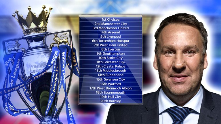 Merson has made his predictions for the 2016/17 Premier League season