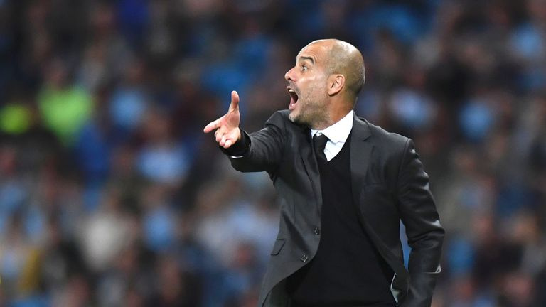 Pep Guardiola is overseeing a 'work in progress' at Manchester City