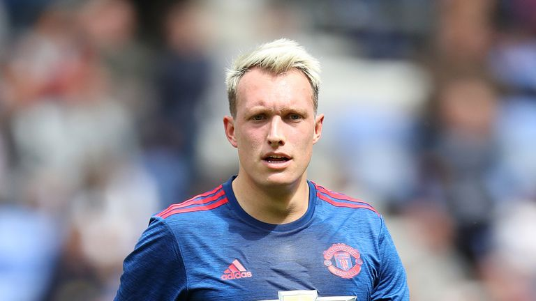 Manchester United defender Phil Jones is a target for Stoke, says Mark Bowen