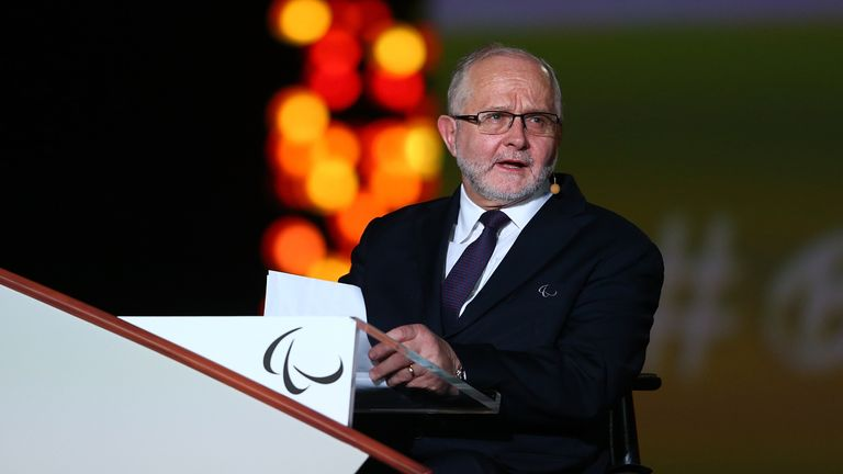 President of the IPC Sir Philip Craven expressed his sadness at the news