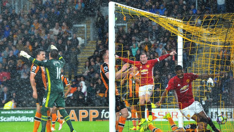 Rashford scored United's winner at Hull after coming off the bench