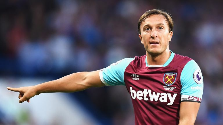 Mark Noble continues to be overlooked for a senior international debut