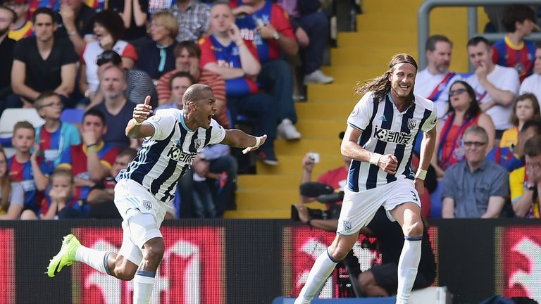Salomon Rondon headed West Brom to victory at Crystal Palace