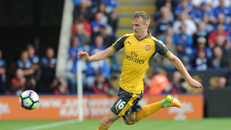 Rob Holding was praised by Arsene Wenger following his display against Leicester