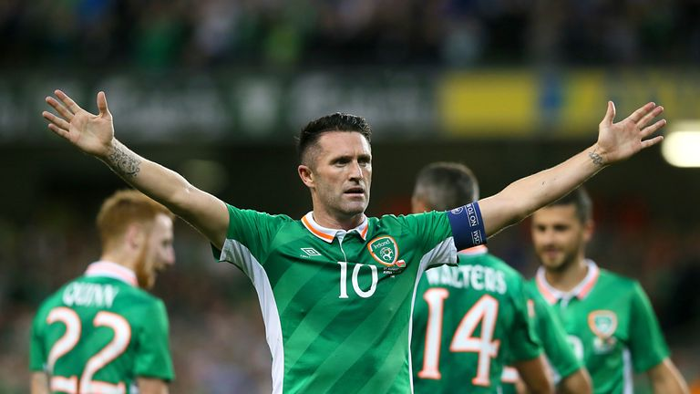Robbie Keane scored a record 68 goals in 146 Ireland appearances