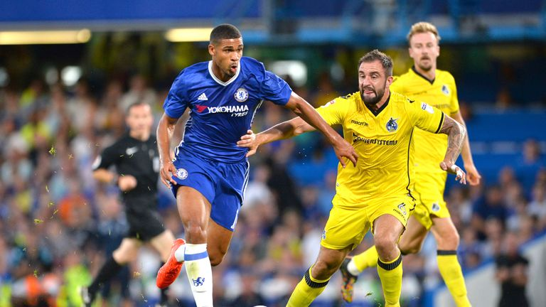 Loftus-Cheek was able to brush off the attention of his markers with ease