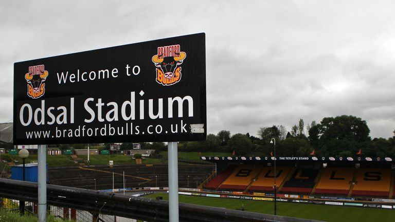 The Bradford Bulls face an uncertain future but Richard Lamb hopes he can help save them