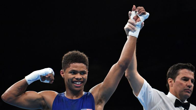 Shakur Stevenson is guaranteed at least a bronze medal