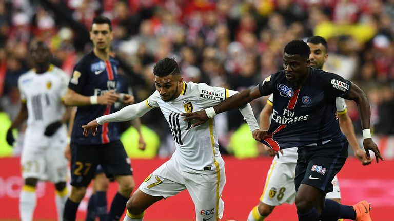 Boufal impressed for Lille in Ligue 1 last season