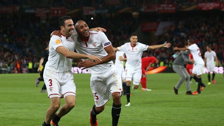 Sevilla scored three times in the second half to beat Liverpool in last season's Europa League final