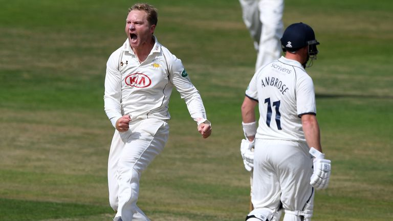 Gareth Batty is back in the Test squad after an 11-year absence