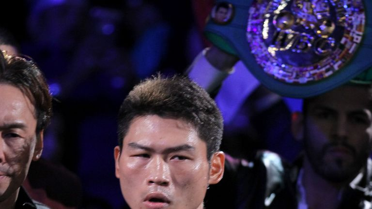 Takashi Miura's is Miguel Berchelt's mandatory challenger after Miguel Roman win