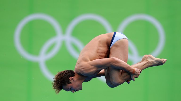 Daley failed to impress the judges with his diving