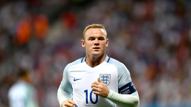 Wayne Rooney has called time on his international career with England