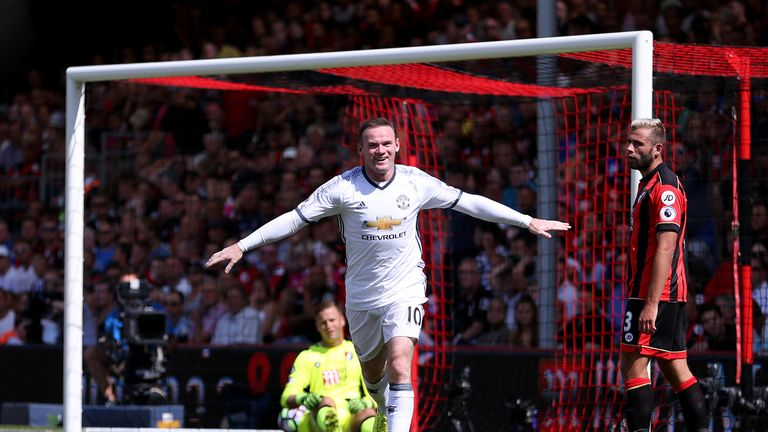 Wayne Rooney has three years left on his current Manchester United contract