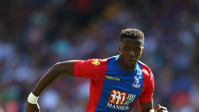 Wilfried Zaha is eligible for the Ivory Coast because his two England appearances were in friendly matches