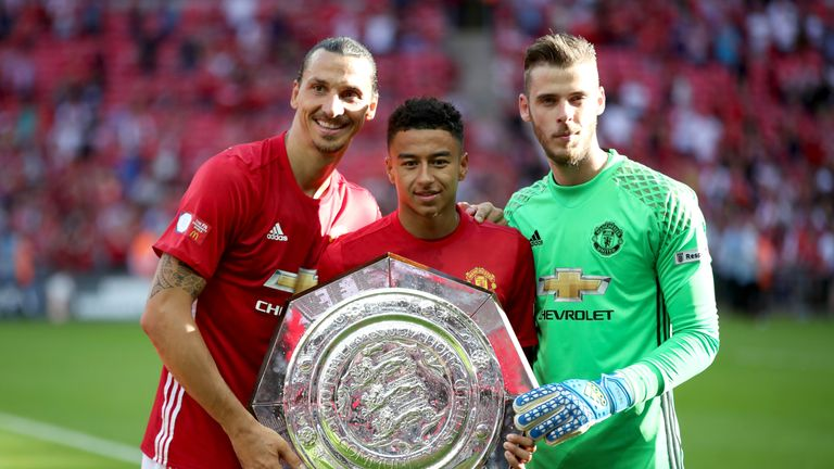 Man Utd beat Leicester to win the Community Shield in early August