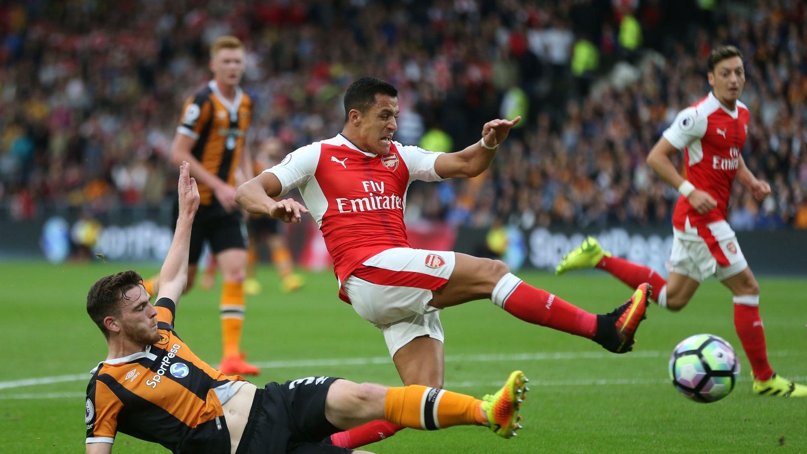 Hull City 1 - 4 Arsenal - Match Report & Highlights
