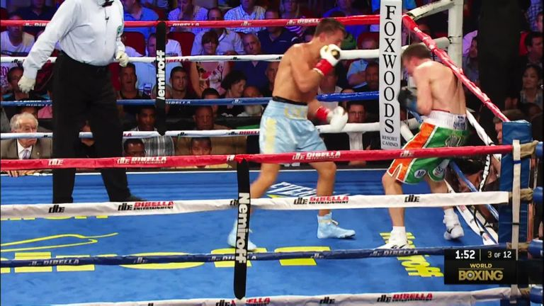 Matthew Macklin was stopped with a body shot