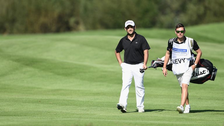 Alexander Levy finished with a two-under 69 in Germany