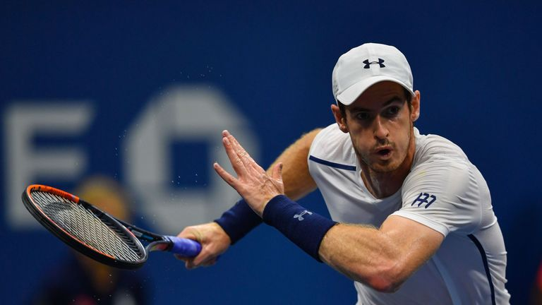 Andy Murray is into the third round at Flushing Meadows
