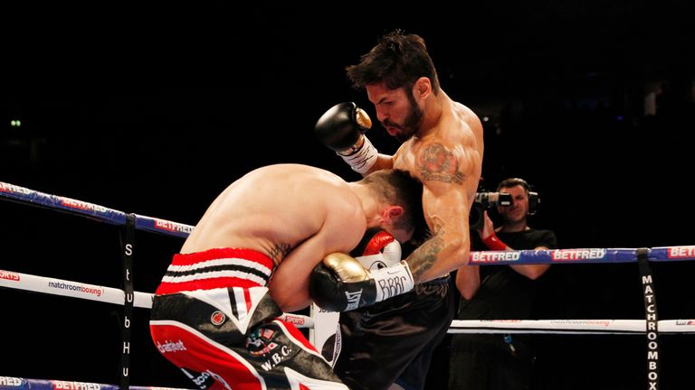 The uppercut and bodyshots worked well for Linares