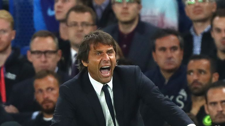 Chelsea are without a win in three league matches under Antonio Conte