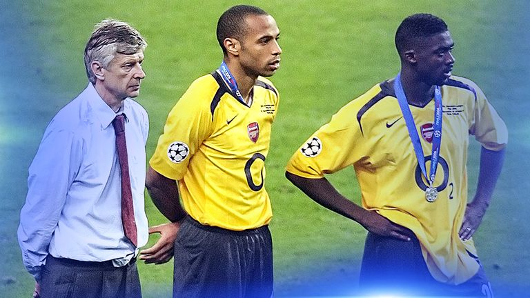 91c34b924 Arsene Wenger s Arsenal still showing scars from 2006 Champions ...