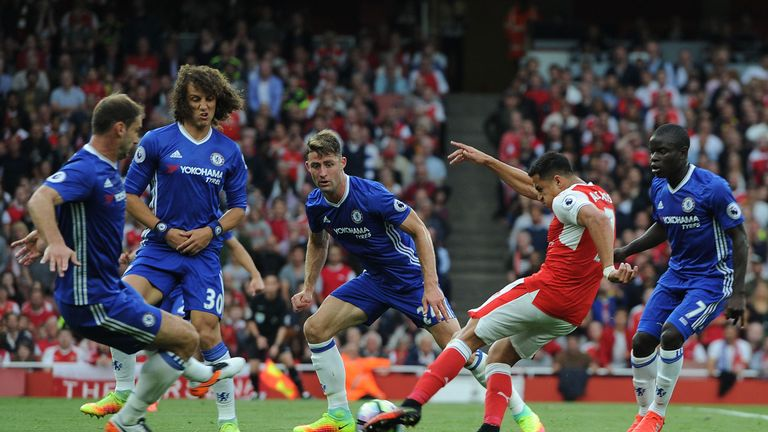 What grade did Chelsea get for their display at Arsenal?