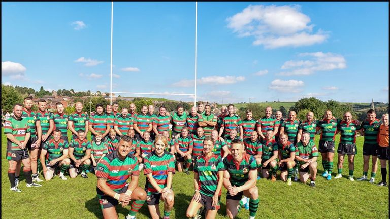 Barrie played is raising funds for the Steve Prescott Foundation