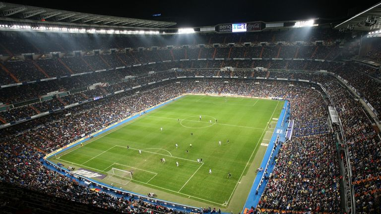 Real Madrid Set For 163 360m Roof After Agreement To Remodel