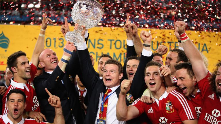 The Lions beat Australia in 2013 - can they claim a series win in New Zealand?