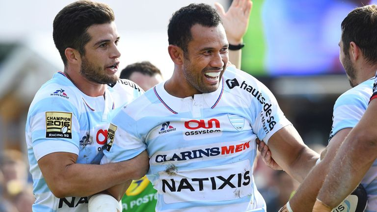 Casey Laulala caused chaos in the midfield against Toulon