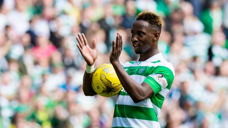 Moussa Dembele scored his eighth goal for Celtic