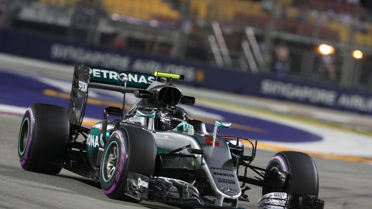 Singapore GP 2016, Practice Three: Nico Rosberg fastest as ...