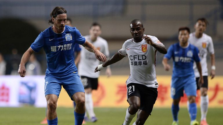 Gael Kakuta, seen here in March, played in Hebei's 3-0 loss