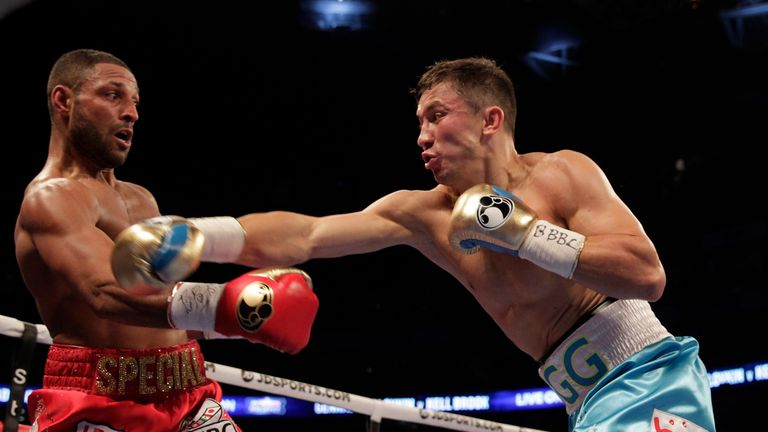 Brook was surprised by Golovkin's extensive reach