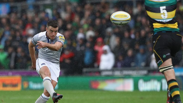 George Ford slotted two drop goals in Bath's win