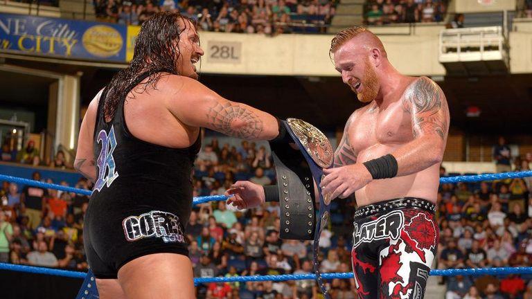 Rhyno and Slater struck tag gold at Backlash