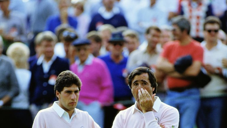 Seve Ballesteros formed a formidable partnership with Jose Maria Olazabal