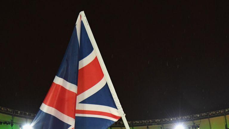 Kadeena Cox was GB's flagbearer at the Rio Paralympics closing ceremony