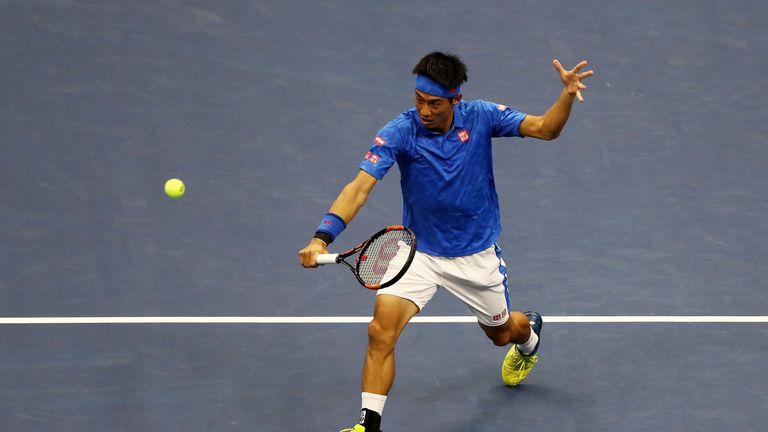 Nishikori was beaten by Marin Cilic in the 2014 final