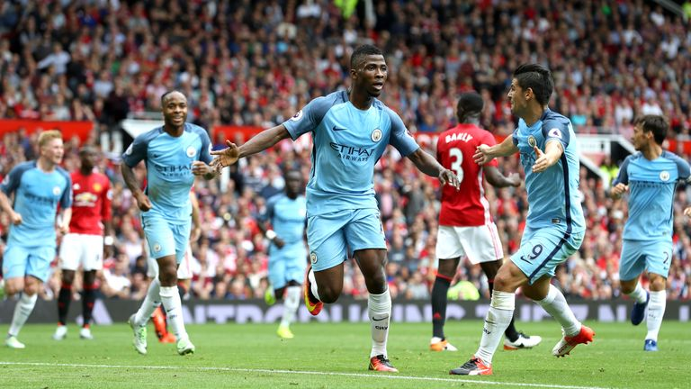 Man City beat Manchester United in September with a 4-3-3 but haven't used the formation since