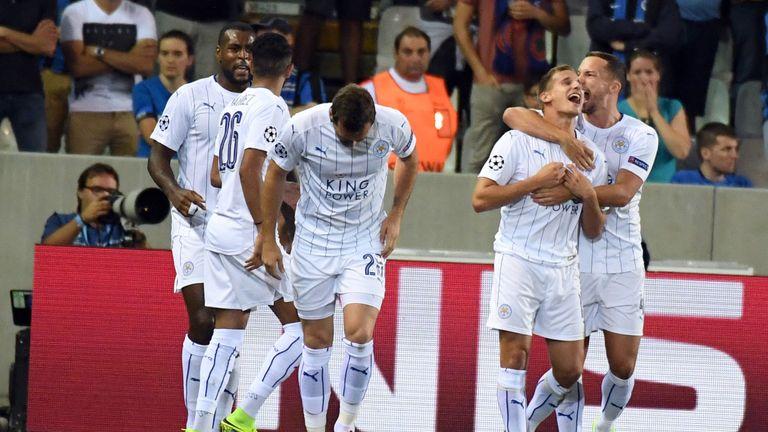 Albrighton's goal gave Leicester the dream start
