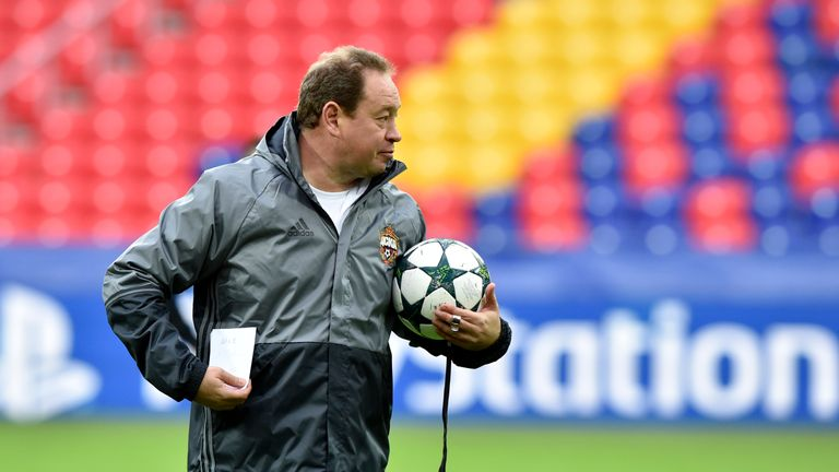 Leonid Slutsky is leaving CSKA Moscow after this week's game against Tottenham