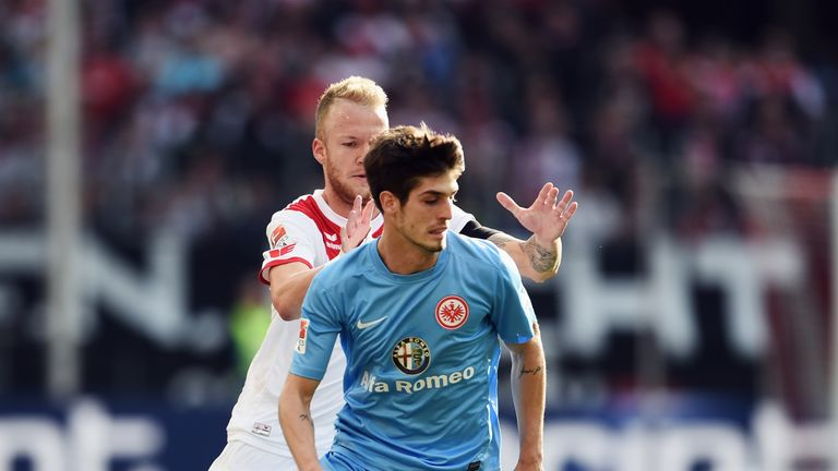 Lucas Piazon spent time at Eintracht Frankfurt during the 2014/15 campaign