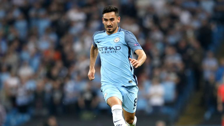 Ilkay Gundogan joined Manchester City on four-year deal this summer